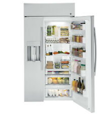 """GE Profile 48"""" 28 cu.ft. Built-In Style Stainless Steel Refrigerator---BRAND NEW"""