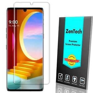 ZenTech Clear FULL COVER Screen Protector Guard Shield Film Cover For LG Velvet