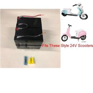 24v Battery Replacement w/  Kit for RAZOR Pocket Mod Scooter Bella Surge Barbie