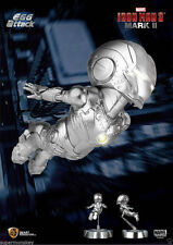 Beast Kingdom Marvel Iron Man 3 Mini Egg Attack LED MARK II MK2 Figure