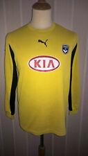 maillot FC Girondins Bordeaux FCGB gardien porté match worn