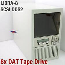LIBRA-8 SCSI 8x DAT TAPE DRIVE LAUFWERK STREAMER BANDLAUFWERK SONY SDT-5000 DDS2