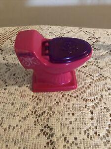 Barbie Doll Dream Glam House Dollhouse Toilet Pink & Purple 2008