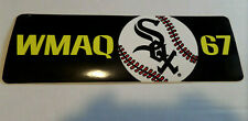 1 Vintage 1980's CHICAGO WHITE SOX WMAQ 67 BUMPER STICKER
