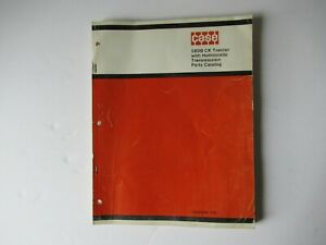 1971 Case 580B CK tractor parts catalog manual