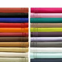 1800 Count Super Soft Hotel Quality 4 Piece Deep Pocket Bed Sheet Set Bedding
