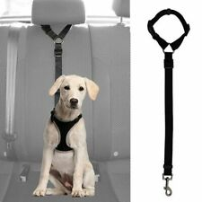 Dog Cat Pet Safety Adjustable Car Seat Belt Harness Leash Travel Clip Strap Lead