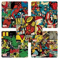 Marvel Avengers Assemble Stickers x 5 - Party Supplies Favours Loot Bags - Retro