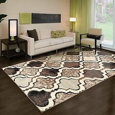 8x10 DISTRESSSED AREA RUG CARPET FLOOR DECOR CONTEMPORARY TURQUOISE GRAY BROWN