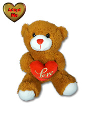 Dan Dee Brown Valentine Sweetheart Teddy Bear Love Heart Stuffed Plush Animal