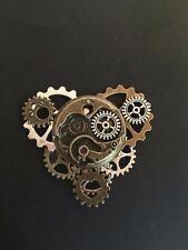 1pc Steampunk Pin  Watch Movement Lapel Pin Badge  Gear  Brooch Collar Pin