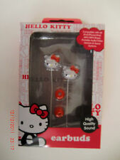 HELLO KITTY EARBUDS ~ Compatible with all iPod/iPhone/iPad & MP3/MP4 Players