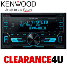 Kenwood DPX-3000U Double Din AUX USB iPhone iPod Android Blue Display Car Stereo