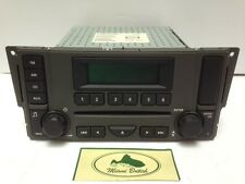 LAND ROVER RADIO SINGLE CD PLAYER MP3 STEREO LR3 05-07 VUX500430 USED