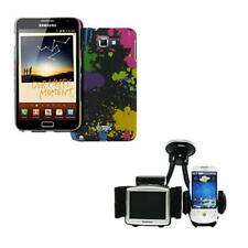EMPIRE Paint Stealth Case+ Dual Car Mount Holder for Samsung Galaxy Note I9220