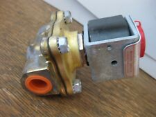 """ASCO Redhat Electric Actuated Solenoid Valve 24VDC 3/8"""" NPT PS821001 Made in USA"""