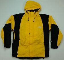 Rare VTG THE NORTH FACE Gore-Tex XCR Summit Series Spell Out Jacket 90s Yellow S