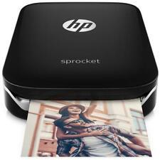 HP Stampante Portatile Sprocket a Colori per Foto Bluetooth Micro USB - Nero