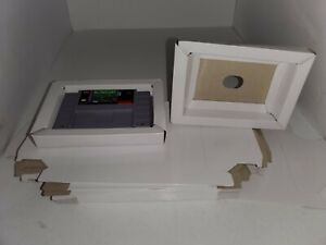 5 NEW Replacement Cardboard Tray  insert for Super Nintendo SNES ( No game)