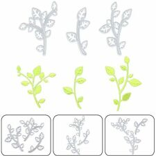 3pcs Leaves Metal Cutting Dies Stencil For DIY Scrapbook Album Paper Card Craft