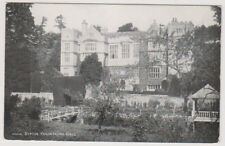 Yorkshire (North) postcard - Ripon, Fountains Hall (A732)