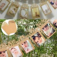 1st Birthday Bunting Garland Banner Baby 1-12 Month Photo Prop Party Bunting