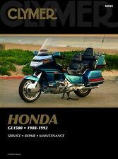 Honda GL1500 Gold Wing Aspencade Interstate 1988-1992 Clymer Manual M505 NEW