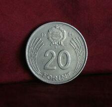 Hungary 20 Forint 1984 Copper Nickel World Coin Gyorgy Dozsa