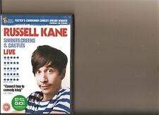RUSSELL KANE SMOKES CREENS AND CASTLES DVD STAND UP COMEDY