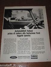 AA18=1963=FORD FOMOCO=PUBBLICITA'=ADVERTISING=WERBUNG=