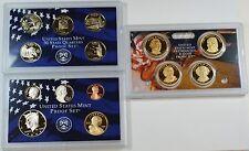2008 US Mint Clad Proof Set, 14 Beautiful GEM Coins w/ Box & COA