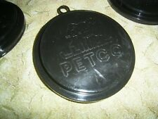 10 BLACK SCUFFIES pet food petfood dog puppy cat kitten lids can top cover Petco