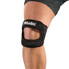 Mueller 59857 Max Knee Brace ITB Strap Runner Dual Patella Support Strap Sports
