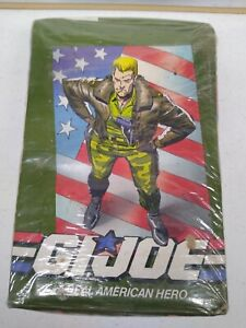 1991 Impel Hasbro Toy GI Joe Real American Hero Sealed Wax Pack Trading Card Box