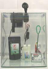 Nano Aquarium Cube Würfel Garnelen Shrimp Set incl. Einhängefilter LED-Bel. 30 L