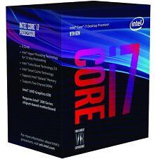 Intel Core i7-8700 3.2GHz 12MB Cache 6 Core Processor with  LGA1151 Socket