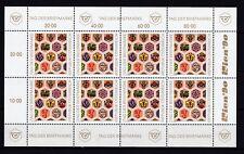 Österreich postfrisch Kleinbogen  MiNr.  1990   Tag der Briefmarke 1990