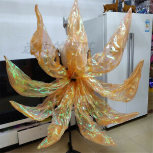 LOL KDA Prestige Fox Ahri Cosplay Nine Tails Girl 4 Colors LED Light Prop Outfit