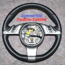 Porsche 997 987 MK1 PDK Lenkrad Multifunktion leather steering wheel 99734780333