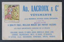 Buvard LACROIX Vêtements Boulogne-sur-Mer Devinette image cachée rat cave 2
