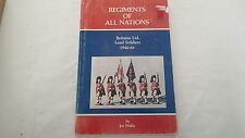 Modelling Collecting Lead Soldiers Regiments of all Nations Reference Book