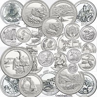 2010 - 2018 National Park Quarters SET P&D 90  9 years set