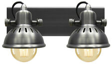 Vintage Adjustable Swivel Twin Spotlight Double Wall Light Ceiling Light