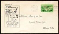s1231) Raketenpost Rocket Mail Cu ba Primer Experimento del Comete Postal 1939