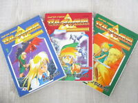 LEGEND OF ZELDA Triforce Manga Comic Complete Set ATARU CAGIVA Book EX