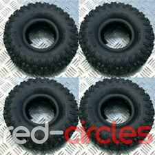 4x KNOBBLY MINI QUAD BIKE TYRES - SIZE 4.10-4 FOR 47cc & 49cc ATV
