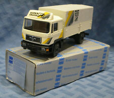 Conrad #4132, Man Super Truck Commander, Covered, 1/50 scale, West Germany