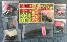 Associated RC10DS RC10 Dual Sport Parts Lot NEW Bumper Decal Anti roll Bars