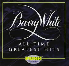 Barry White All-Time Greatest Hits CD NEW SEALED Never, Never Gonna Give You Up+