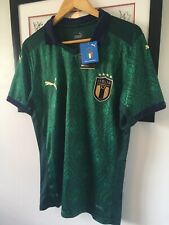 BNWT Mens Puma Italy Football Shirt Medium M Green 20/21 Renaissance Third Kit